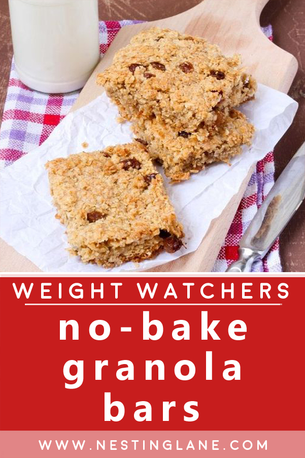 Weight Watchers No-Bake Granola Bars