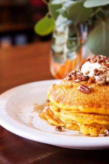 Weight Watchers Paleo Pumpkin Pancakes