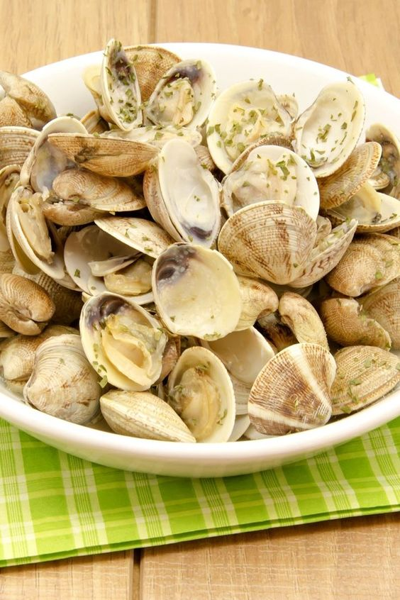 Weight Watchers Clams and Garlic