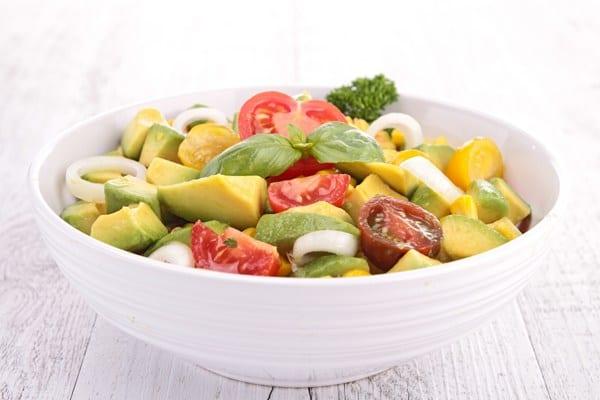 Weight Watchers Avocado Salad