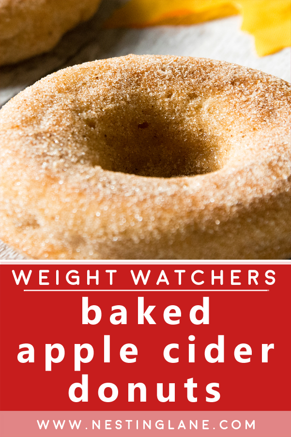 Weight Watchers Baked Cider Donuts