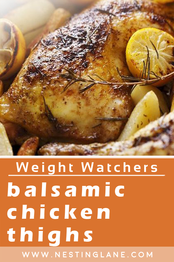 Weight Watchers Balsamic Chicken Thighs