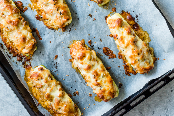 Weight Watchers Cheesy Stuffed Chicken Zucchini