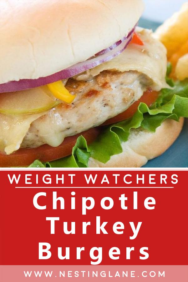 Weight Watchers Chipotle Turkey Burgers