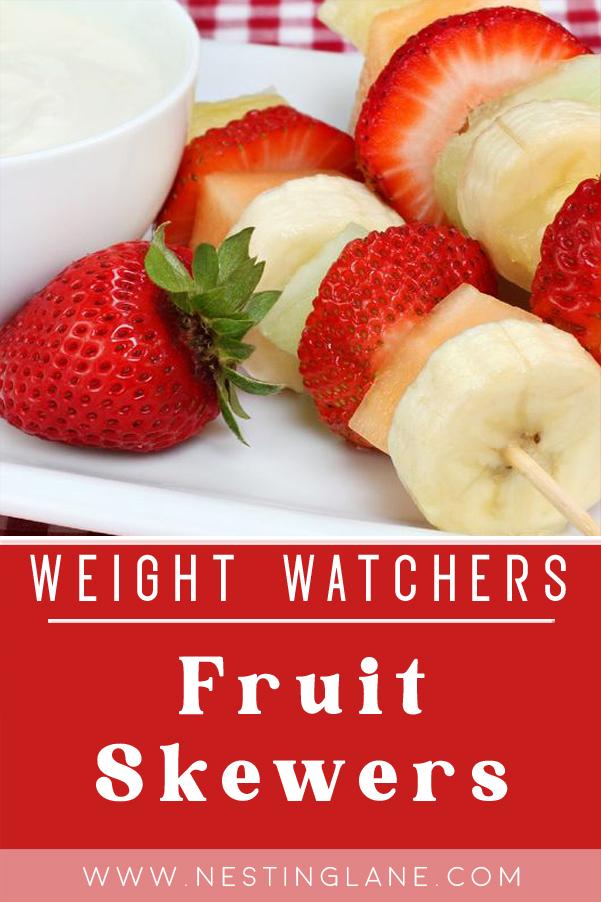 Weight Watchers Fruit Skewers