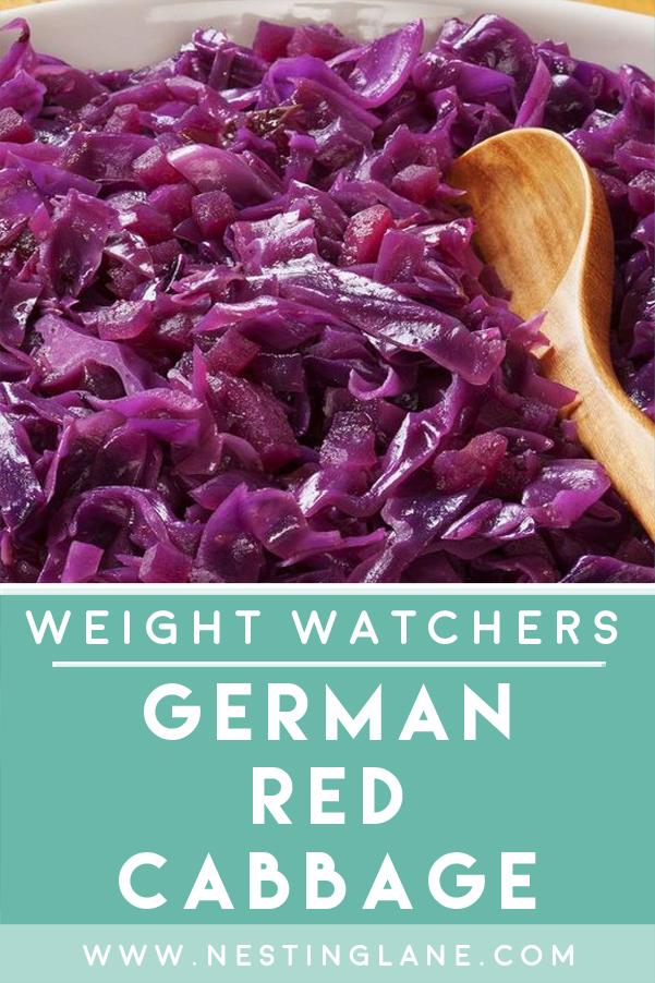 Weight Watchers German Red Cabbage