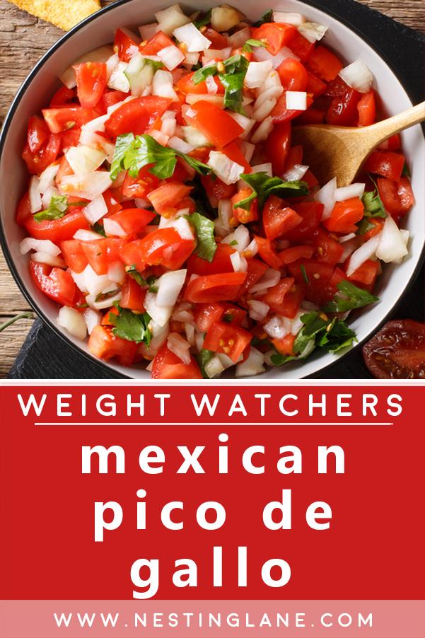 Weight Watchers Mexican Pico de Gallo