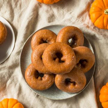 Weight Watchers Pumpkin Spice Donuts