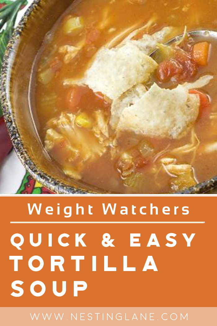 Weight Watchers Quick and Easy Tortilla Soup Graphic