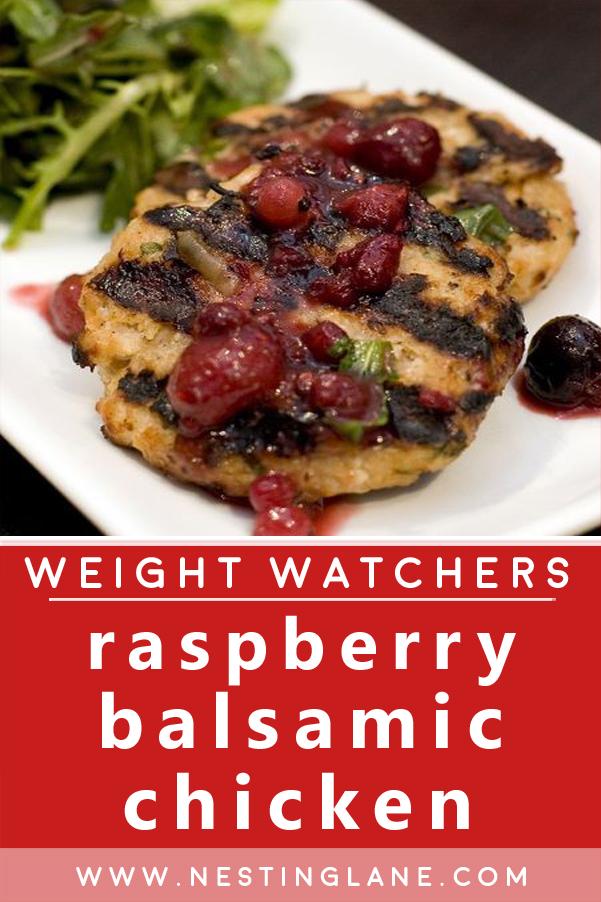 Weight Watchers Raspberry Balsamic Chicken