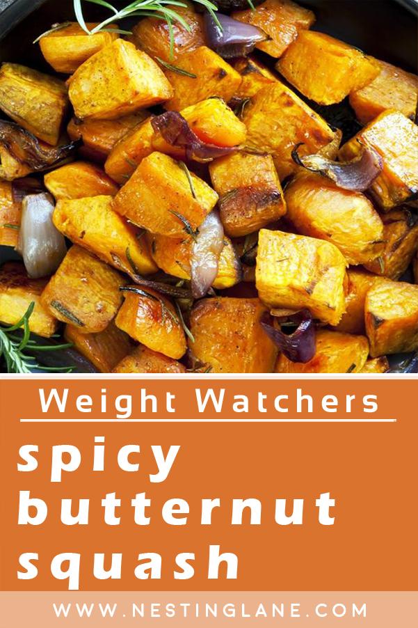 Weight Watchers Spicy Roasted Butternut Squash