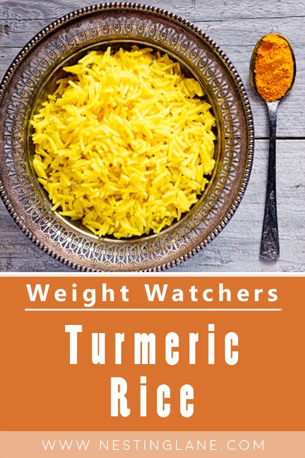Weight Watchers Turmeric Rice