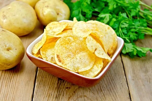 Weight Watchers Homemade Potato Chips