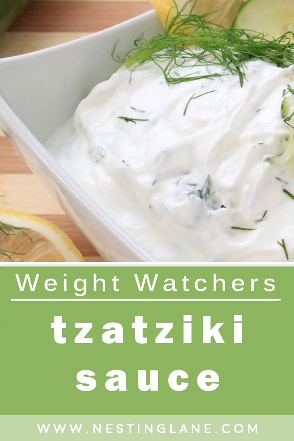Weight Watchers Greek Tzatziki Sauce