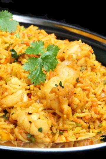 Weight Watchers Curried Rice and Shrimp Recipe